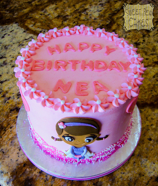 Doc Mcstuffins Birthday Cake Walmart
