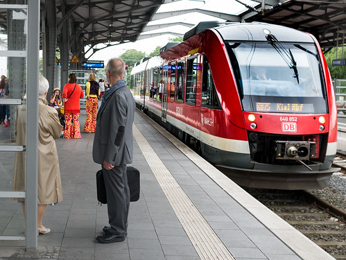 railwaystations trains rendsburg