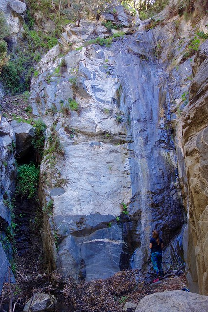 Adams Falls, Chantry Flats, Sturtevant Falls, Big Santa Anita Canyon