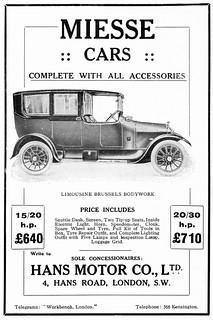 1914 Miesse Limousine