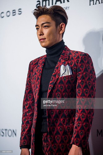 TOP - amfAR Charity Event - Red Carpet - 14mar2015 - Getty Images - 05