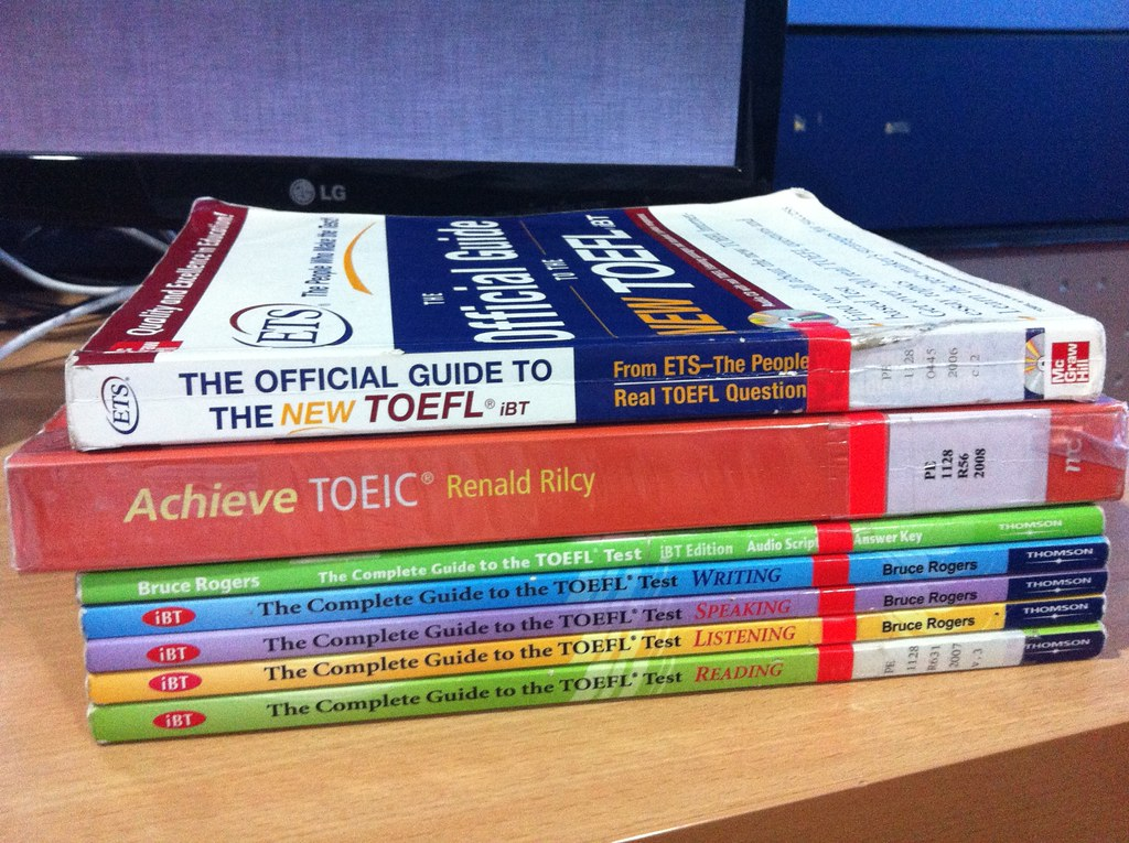 In preparation for TOEIC and TOEFL exam…