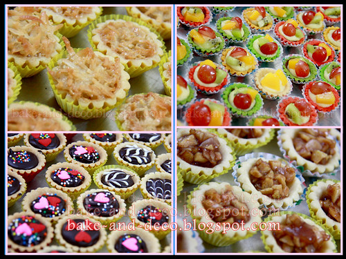 Baking Class: Variety Tartlet ~ 13 May 2012