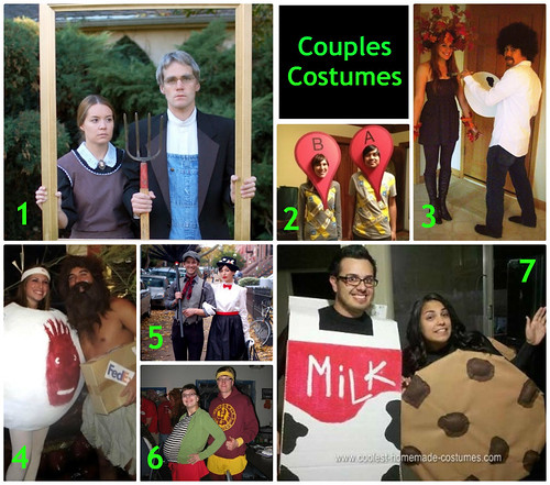 Mrs. Fields Secrets Couples Costumes