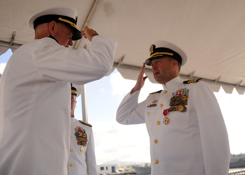 SAN DIEGO – Destroyer Squadron (DESRON) 1 held a change of command ceremony at Naval Base San Diego.