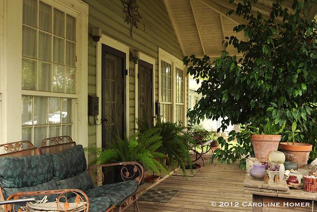 Renee Studebaker's front porch