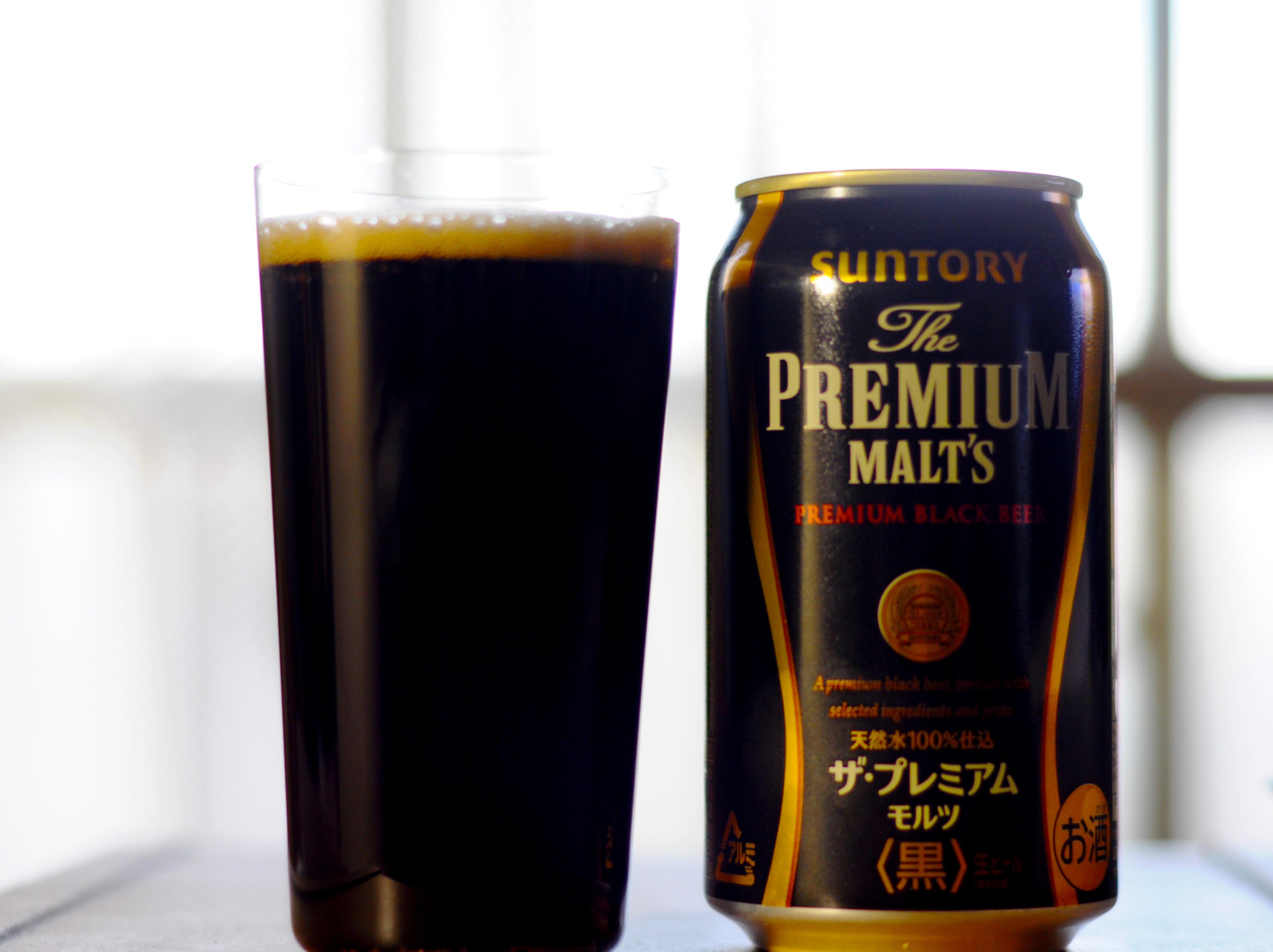 PREMIUM MALTS 黒