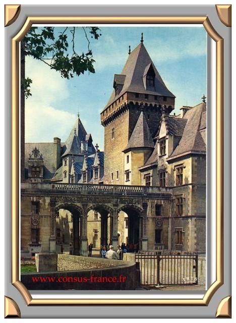 PAU - L'entrée du Château -70-150