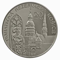 Slovakia 20 euro reverse