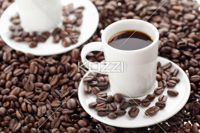 plain black coffee