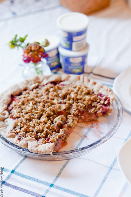 Spiced Strawberry Pie