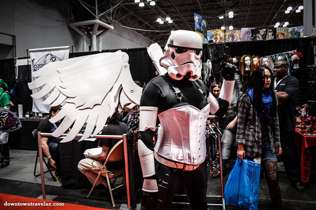 NY Comic Con 2012-Darth Vader Angel