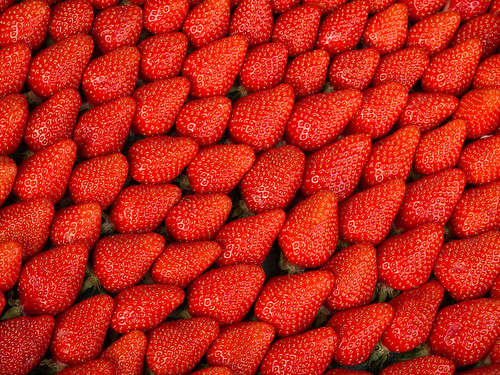 Strawberries by J Raga