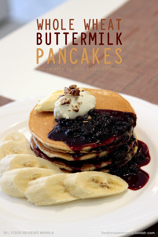 Whole Wheat Buttermilk Pancakes from The Cake Club