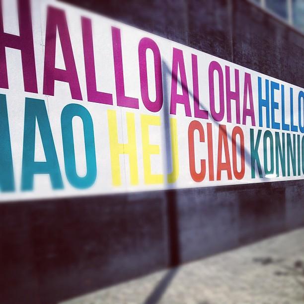 Hallo Aloha Hello