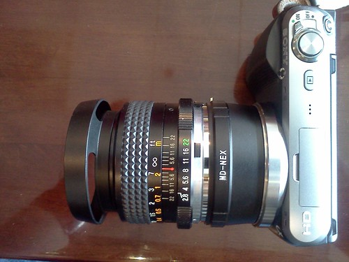 Sony NEX-C3 with Mitakon Wide MC 2.8/28 by pvera