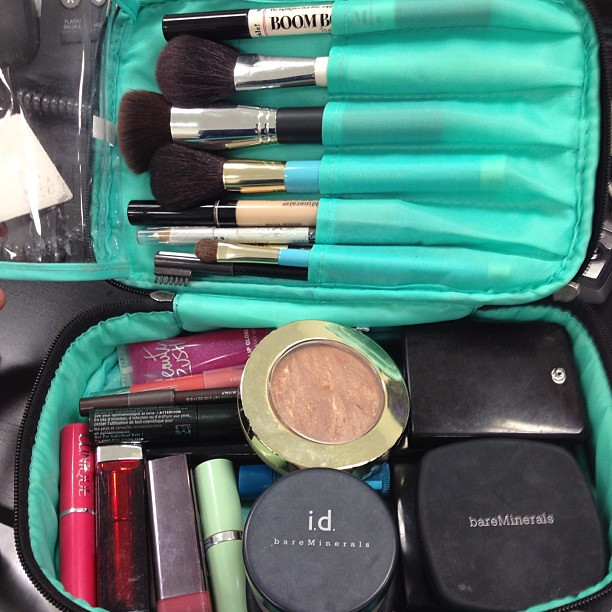 Like most things in my life, I like my make-up to be well organized. #organization #makeup