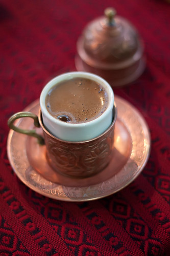 Turkish Coffee by Olga Irez of Delicious Istanbul