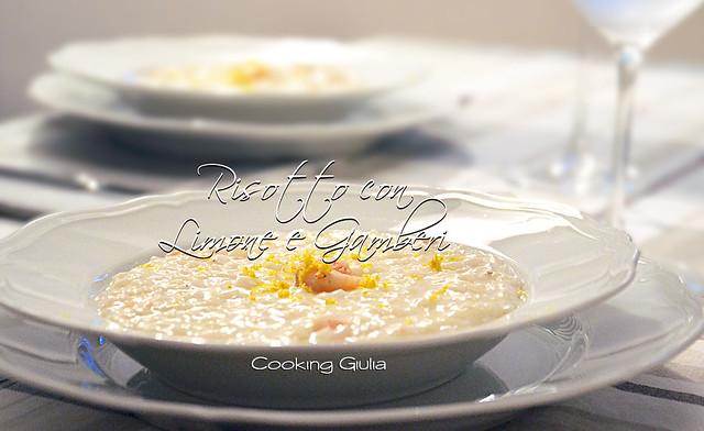Risotto con cooking chef | risotto gamberi e limone