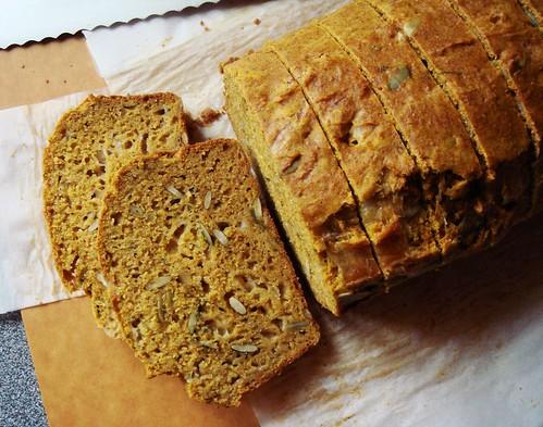Savoury Pumpkin Cheese Bread