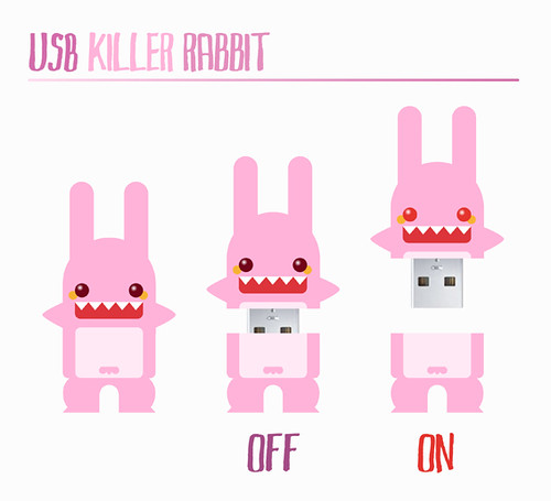 USB Killer Rabbit by ideasconalas