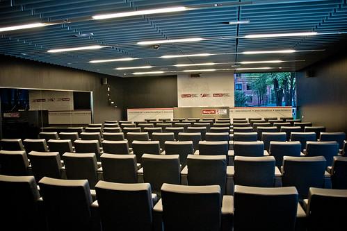 Auditorio de BiscayTIK, sede del IV Encuentro Anual de GetxoBlog