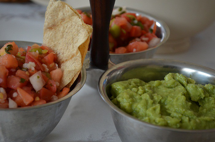 Salsa and Guac Trio
