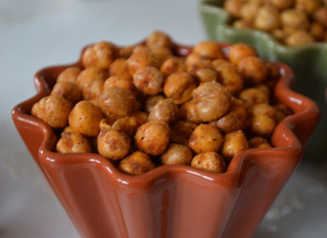 Crunchy Chickpeas- Bombay Spice