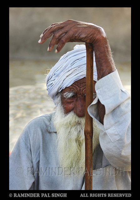 Old Sikh man