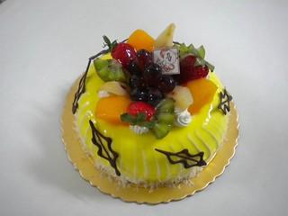 生日蛋糕 水果布丁