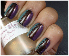 31DC2012 Day 6 Violet Nails - 2