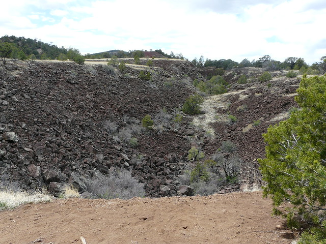 Lava Trench Exposed!