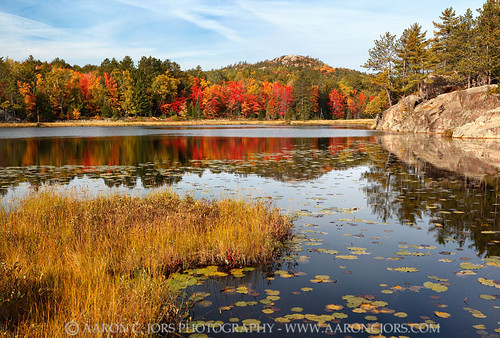 Autumn Rise - Wetmore Pond (Huron Mountains - Upper Michigan)