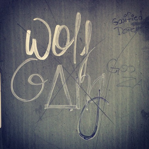 On my run this morning #wolfgang