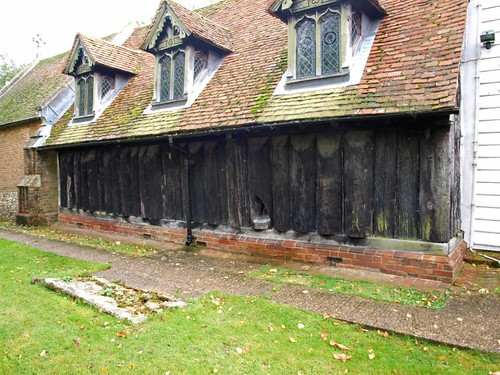 Saxon split oak nave walls (2)