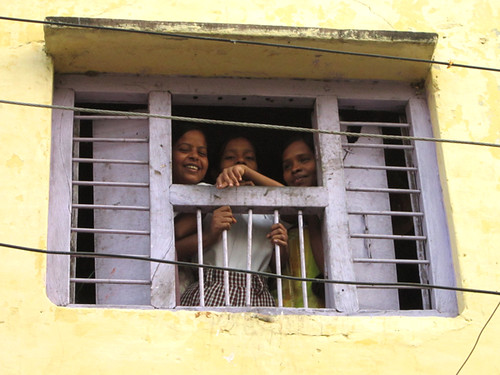 Women in a window