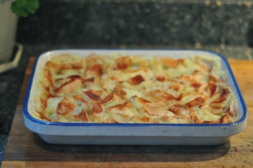 baked applesauce