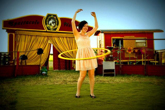 Spettacolo Nostalgia Circus Hooping