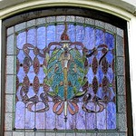 Penn-Wyatt House Stained-Glass Window 1