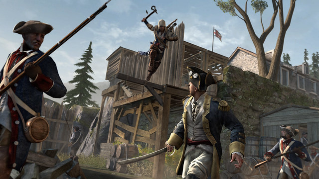 Assassin's Creed III for PS3: Exclusive Benedict Arnold Missions only on PlayStation