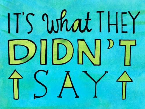didn't-say