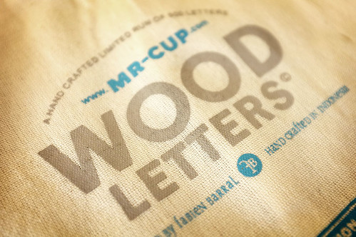 MrCup Helvetica WOOD letters final / MrCup launch date annoucement