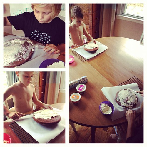 We are cake-bossing our talent today.