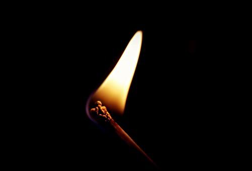 [フリー画像素材] バックグラウンド, 火・炎, マッチ ID:201210301600