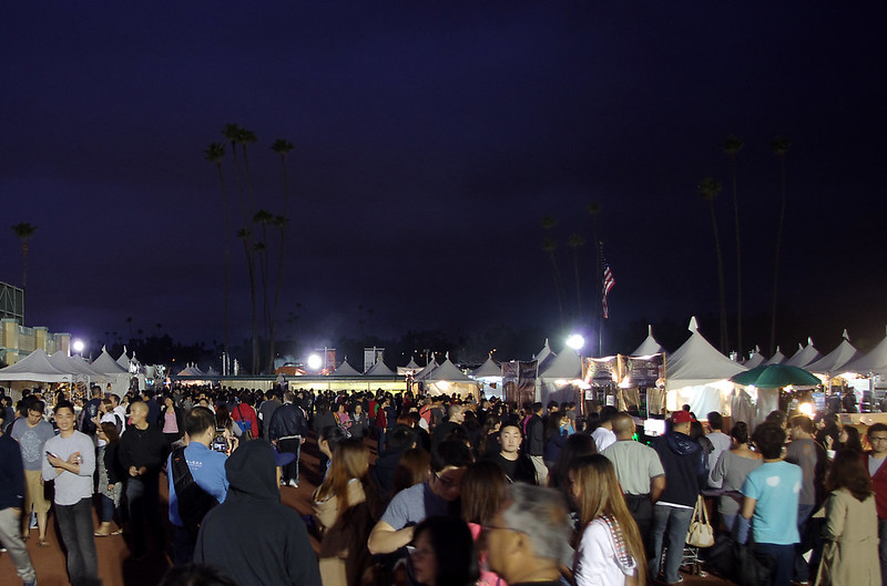 [洛杉磯]跑馬場夜市