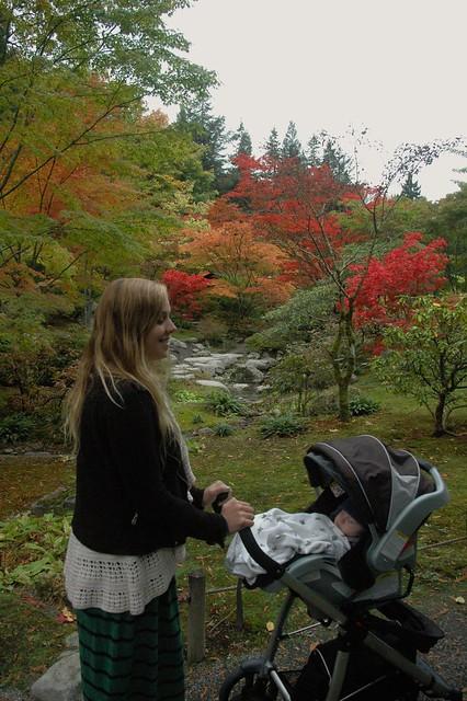10-21-2012 Arboretum with Mol 3