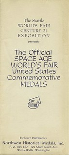 1962 Seattle World's Fair brochure