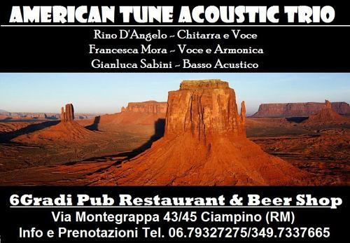 Locandina evento creata da Francesca Moro per la serata live al 6Gradi Pub a Ciampino