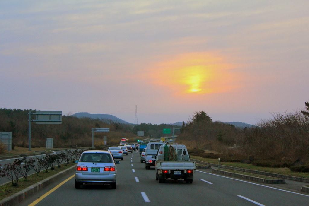 Sunset at Jeju