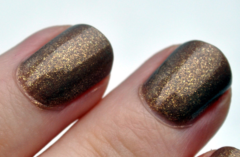 china glaze fast track nail polish NOTD 1